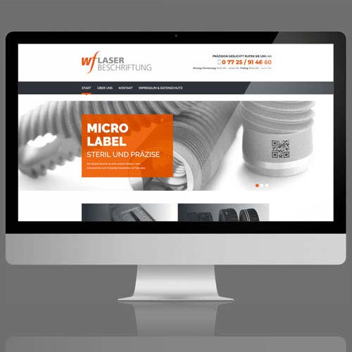 Website Druckerei Fleig