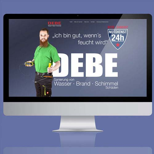 Website Debe WBS