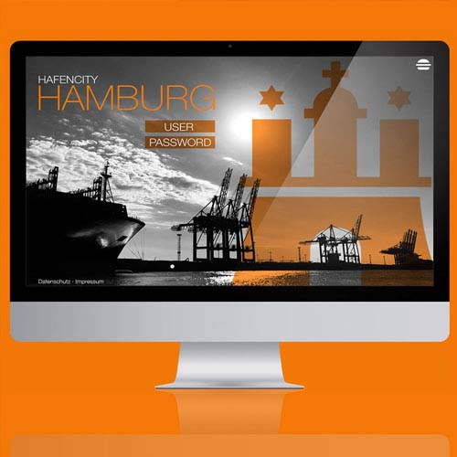 Website Hamburg Hafen City